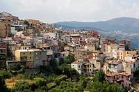 Small town Lanusei, Sardinia, Italy