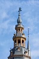 The belfry tower, Veurne, Belgium