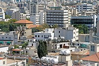 Roofs of Nicosia, Cyprus