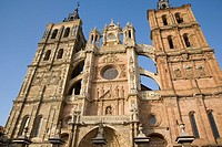 Cathedral, Astorga, Leon, Spain, Building, Architecture, Travel, Tourism, Landmark, Religion