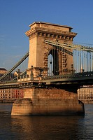 Budapest, Hungary - The Chain Bridge