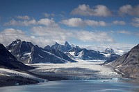 Kaerale Glacier, Greenland, Ammassalik, East Greenland, Sermiligaq