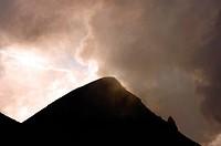active volcano Stromboli, Italy, Stromboli, Liparic Islands