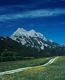 Great Buchstein mountain, Gesaeuse National Park, Styria, Austria