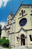 protestant church, Austria, Styria, Ramsau