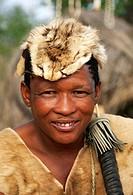 Bushman, near to Gobabis, Namibia