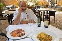 pancrazio calamello, chef, enoteca italiana, Siena, Tuscany, Italy