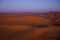 Dunes at Erg Chebbi Morocco