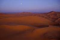 Dunes at Erg Chebbi Morocco