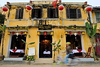 Asia, Vietnam, Hoi An  Hoi An old quarter  Restaurant Hoa Vang, Yellow Flower  The historic buildings, attractive tube houses, and decorated community...