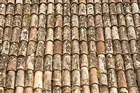 Umbrian roof tiles