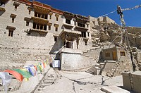 Shey monastery in Ladakh, Indus valley, Jammu and Kashmir, India