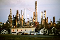 Canada, Nova Scotia, small oil refinery