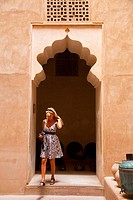 Jabreen Fort. Oman. Persian Gulf. Arabia, Middle East.