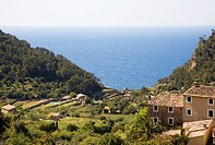 Estellencs. Serra de Tramuntana (World Heritage Site by UNESCO). Mallorca. Balearic Island. Spain
