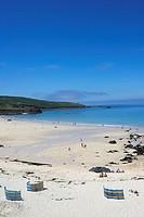 St Ives beach, Cornwall, England