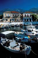 porto di agios nikolaos, creta, grecia, europa