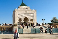 Mausoleum of Mohammed V, Rabat, Morocco, Africa