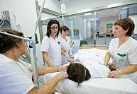 ICU (Intensive Care Unit), Hospital Policlinica Gipuzkoa, San Sebastian, Donostia, Euskadi, Spain