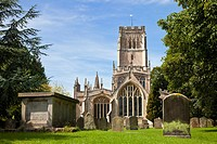 Church of St Peter and St Paul Northleach Gloucestershire England UK Europe