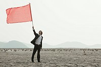 flag, mud flat, Hwa_Sung_Si, gyeonggi_do, korea, south korea, Oriental, Eastern people, asian