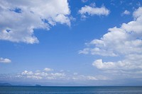 Clouds over Lake Biwa, Otsu, Shiga Prefecture, Japan