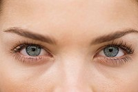 Close_up of a woman´s eyes
