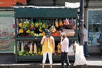 Fruit Stall, San Jose, Costa Rica