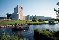 Ross Castle, Killarney, Co Kerry, Ireland, 15th Century castle