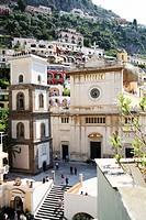 Mediterranean Cliffside town