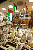 Gold Souk. Dubai Emirate. EAU. Persian Gulf. Arabia.