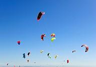 Kitesurfing, Punta Paloma, Cadiz, Spain