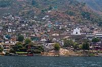 San Antonio Palopo, Lake Atitlan, Guatemala, Central America