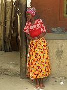 Woman, Mozambique