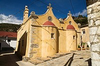 Prina AGIOS NIKOLAOS GREECE CRETE Mountain village Cretan church