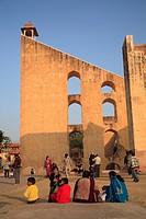 Jantar Mantar, Astronomical Observatory, Jaipur, Rajasthan, India, Asia