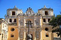 La Merced Church, Antigua, UNESCO World Heritage Site, Guatemala, Central America