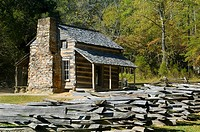 John Oliver Cabin, Cades Cove, Great SMoky Mountains National Park