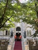 palazzo presidenziale, cetinje, montenegro, europa