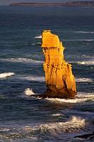 One of The Twelve Apostles Great Ocean Road Victoria Australia