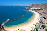 Spain - Canary Islands - Tenerife - North Region - Playa de Las Teresitas (thumbnail)