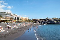 Spain _ Canary Islands _ Tenerife _ Puerto Santiago _ Playa de La Arena