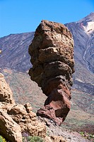 Spain _ Canary Islands _ Tenerife _ National Park Las Canadas del Teide and peak of Teide _ Los Roques de Garcia
