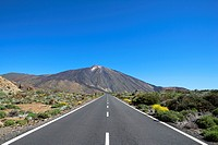 Spain _ Canary Islands _ Tenerife _ National Park Las Canadas del Teide