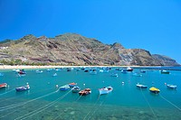 Spain _ Canary Islands _ Tenerife _ North Region _ Playa de Las Teresitas