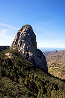 Spain _ Canary Islands _ La Gomera _ National Park of Garajonay _ Mirador de Los Roques