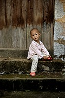 tibetian kid. China