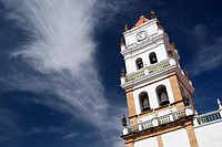 Belltower's Cathedral, Sucre, Bolivia