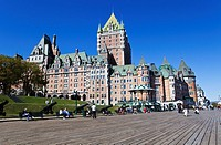 Chateau Frontenac , Quebec City