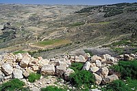 View from mount Nebo Khirbet as-Sayagha, Jordan